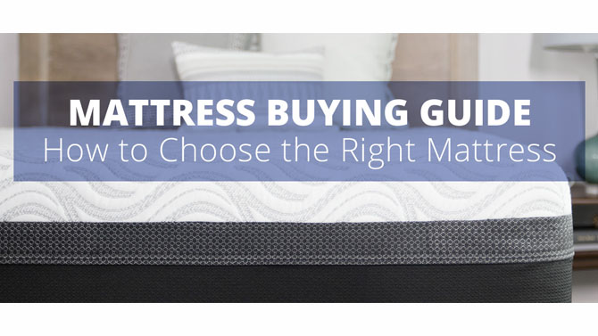 Buying Guide – Mattresses